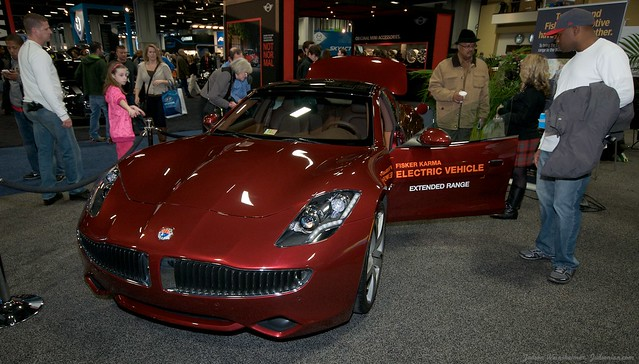 2013 Washington Auto Show - Lower Concourse - Fisker 3