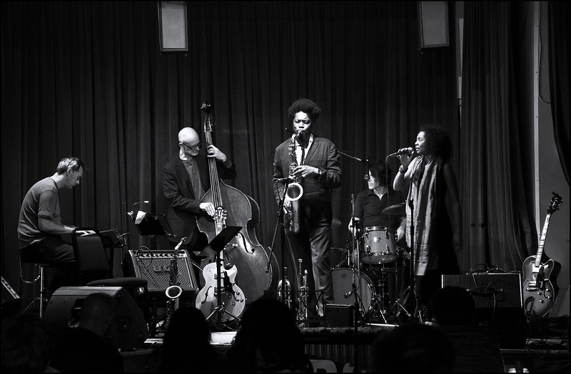 Soweto Kinch wih The Blue Notes