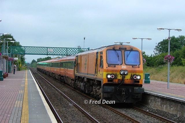 Irish Rail 201 in Charleville.