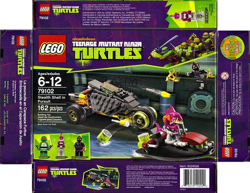 "LEGO Teenage Mutant Ninja Turtles :: ""Stealth Shell in Pursuit"" ..box i (( 2013 )) by tOkKa"