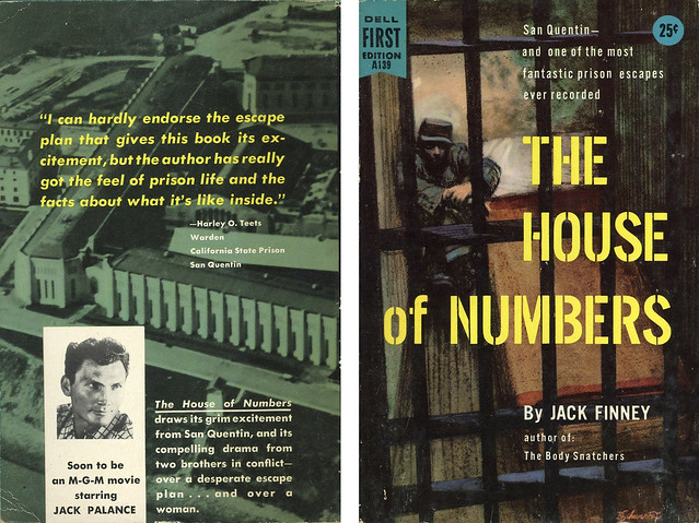 Dell Books A139 - Jack Finney - The House of Numbers (with back)