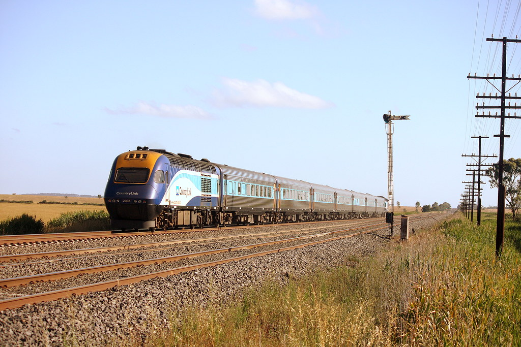 XPT Melbourne bound by LC501