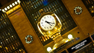 Clock at Grand Central Terminal NYC | by cgc76