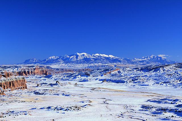Winter on the South Desert