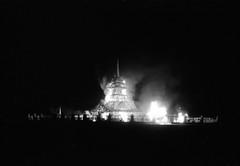 Temple of Juno burn