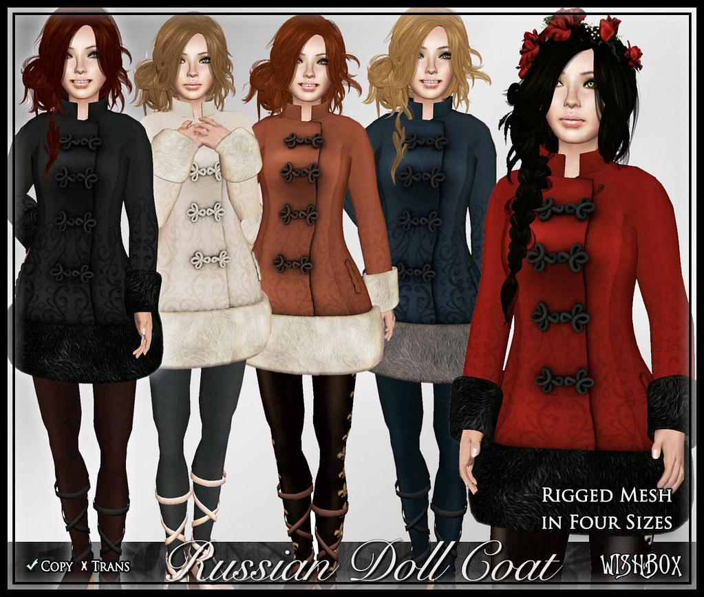 Russian Doll Coat (Megapack)
