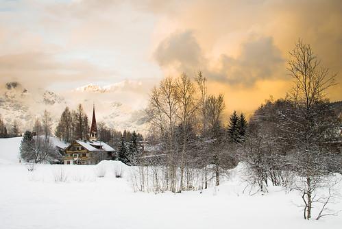 winter mountains austria