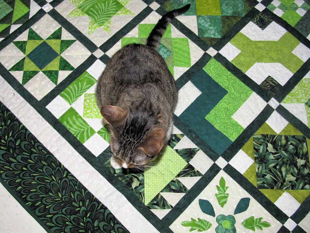 A closer view Green Grandmother