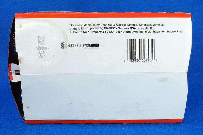 RD14201 6 Red Stripe 12 oz Brown Stubby Beer Bottles in Original 6 Pack Carton DSC05349