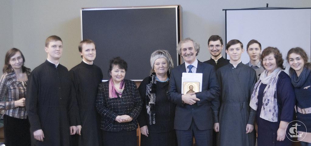 14 декабря 2012, Дискуссия на тему «Духовно-нравственные основы патриотического и социального служения» в РГПУ им.Герцена