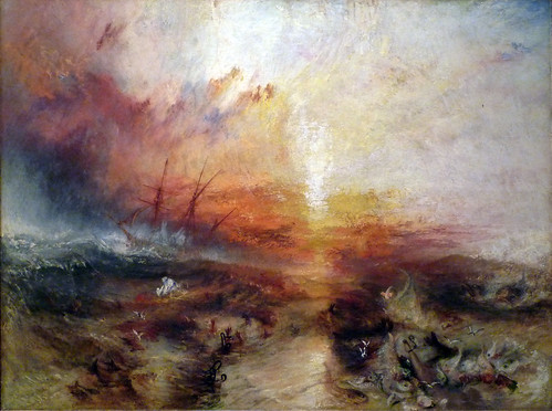 JMW Turner, Slave Ship | by profzucker