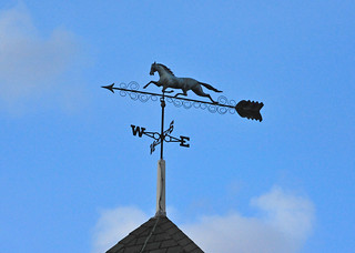 Horse weathervane | by warriorwoman531