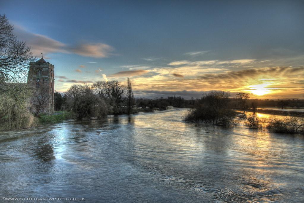 Atcham In Flood
