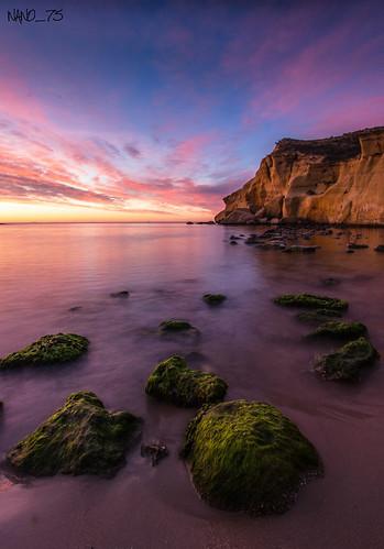 beach playa amanecer loscocedores nano75