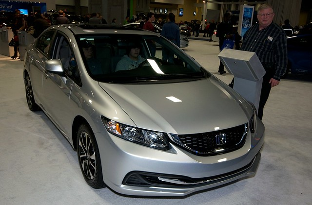 2013 Washington Auto Show - Lower Concourse - Honda 1