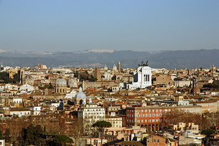 Panorama Dal Gianicolo Roma Giorgio Flickr