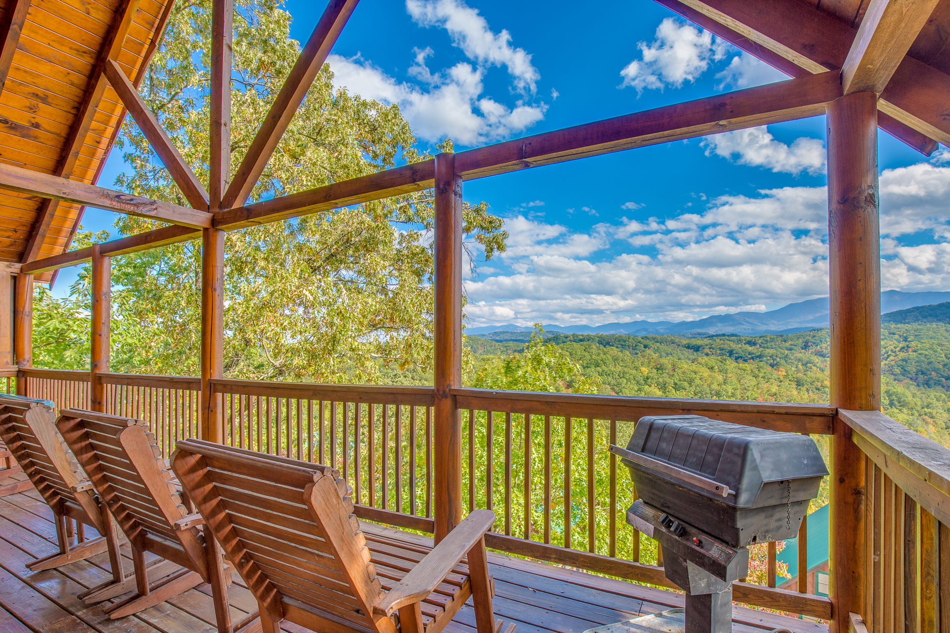 Incredible Views at Pigeon Forge Cabin Rental