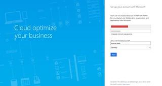 Microsoft Teams Gastzugang (5): Passwort im Browser vergeben | by Frank Hamm