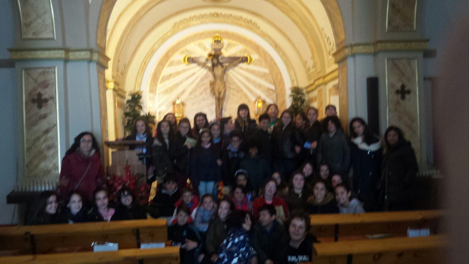 (2018-03-19) - Visita ermita alumnos Yolada-Pilar,6º, Virrey Poveda-9 de Octubre - Maria Isabel Berenquer Brotons - (03)