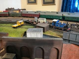 Hattons P Class 0-6-0T Bluebell on Maintenance Train - 2 | by jeffrey.lynn