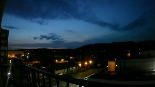 sunrise huntingtonwv harrisriverfrontpark timelapse westvirginia cabellcounty