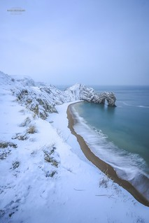 Today was that memorable photo, that I just had to see again, as I never thought I would, here it is just 2 weeks later, taken this morning at #DurdleDoor  in the #Snow hope you like it! Feel free to leave Feedback Thanks | by matt_pinner77
