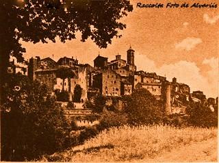1940 Vetralla, cittadina interamente percorsa dalla via Cassia Foto Vasari a