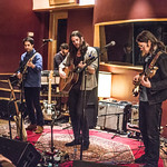 Tue, 06/03/2018 - 8:33pm - Producer, songwriter, guitarist Jonathan Wilson and his band perform for WFUV members at Electric Lady Studios in New York City. 3/6/18 Hosted by Rita Houston. Photo by Gus Philippas/WFUV