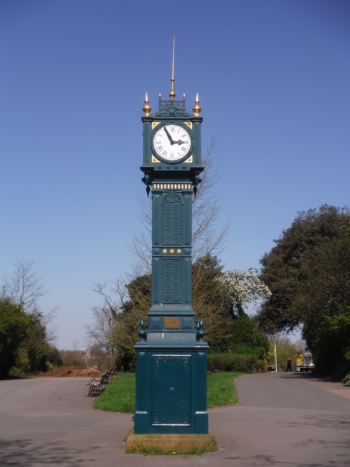 19th Century Clocktower, Brockwell Park SWC Short Walk 39 - Brockwell Park (Herne Hill Circular or to Brixton)
