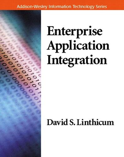 Enterprise Application Integration, par David S. Linthicium