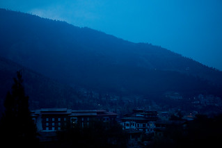 Thimphu at Dawn | by Ata M Adnan