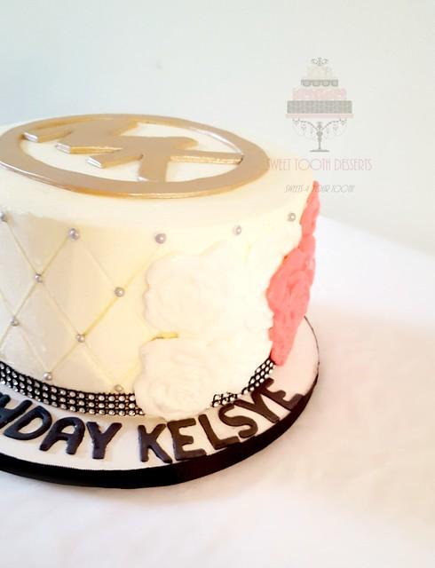 Michael Kors Birthday Cake