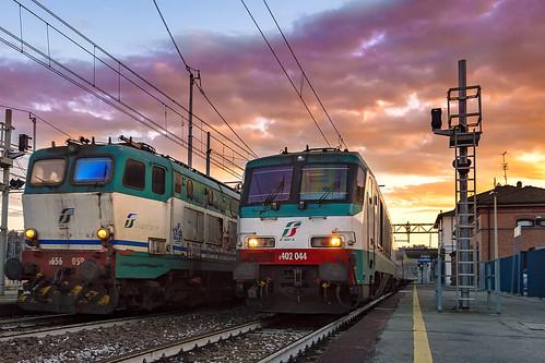 E402 044 + E656 059 | by Enrico Bonaga