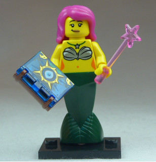 Brick Yourself Custom Lego Figure Magic Mermaid | by BrickManDan