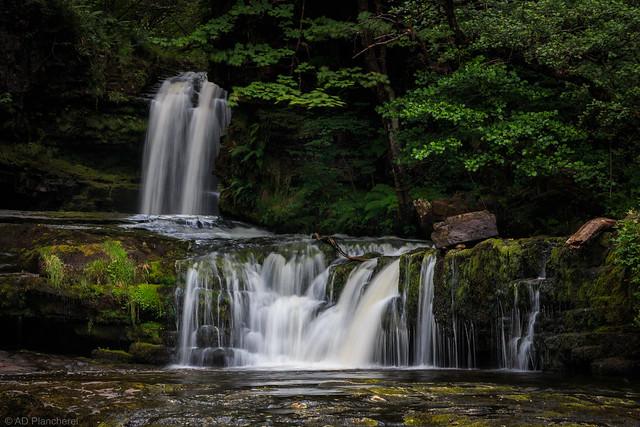 Sgwd ddwli Isaf...the lower gushing falls