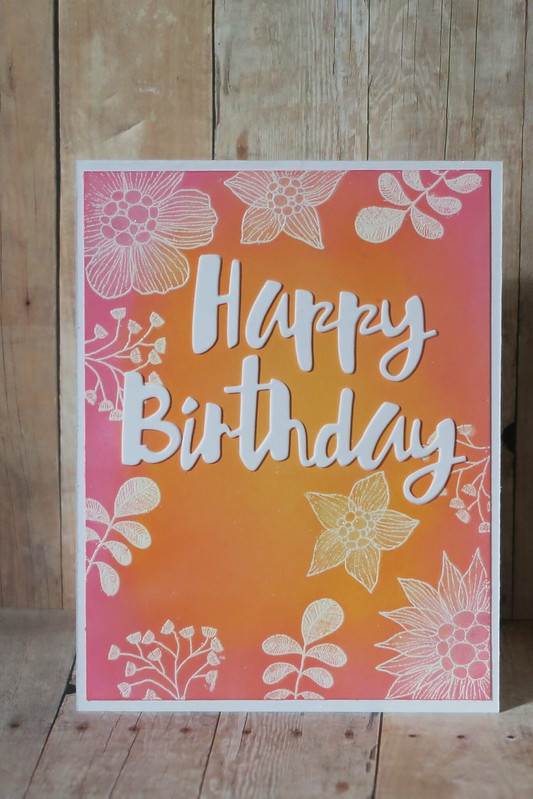 Oxide Floral Birthday