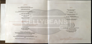 Holland America Nieuw Amsterdam Menu: Pinnacle Grill Specialty Restaurant | by TheJellyBeans.net