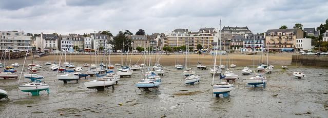 Low tide in Saint-Quay-Portrieux harbour