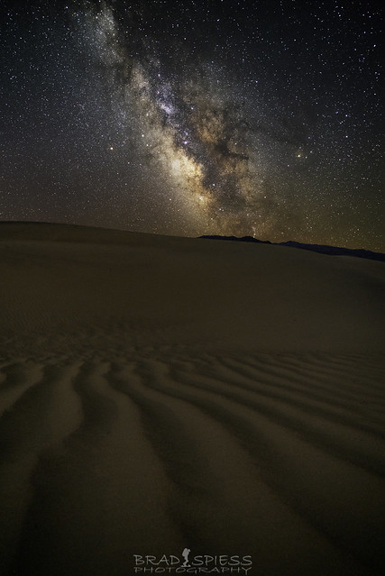 Sand Dune Milky Way