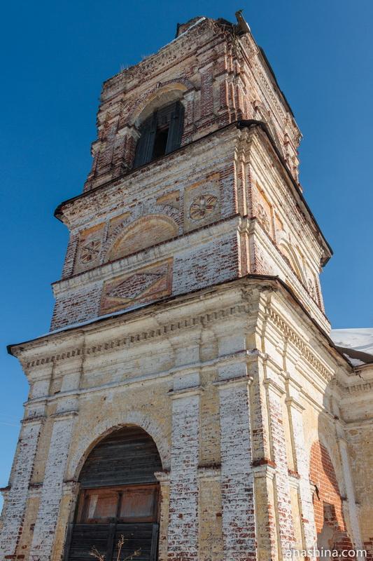 Колокольня Входоиерусалимской церкви, Солигалич
