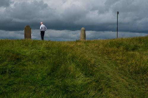 hilloftara meath ireland monument stone gravestone
