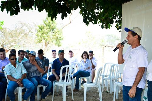Dia de Campo em Orizona, propriedade Hélio Frutuoso.