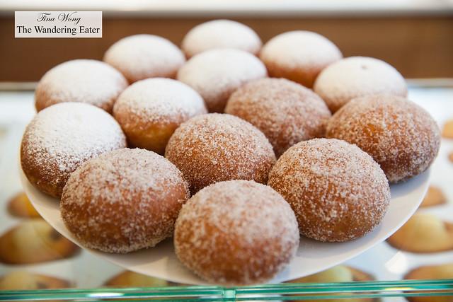 Sugar rolled dougnuts