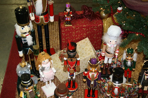 Festival of Trees nutcracker display from ballet | by tsayrate