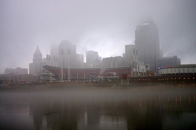 Fog, Ohio River