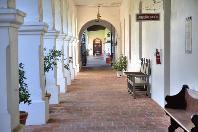 Mission San Luis Rey Colonnade
