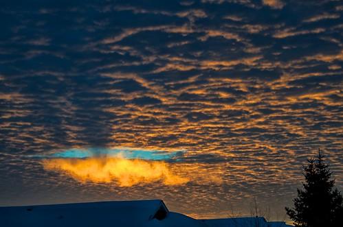 blue orange canada clouds sunrise wow edmonton hole ripple alberta brilliant brightburn alisonpoole alisonpoolephotography