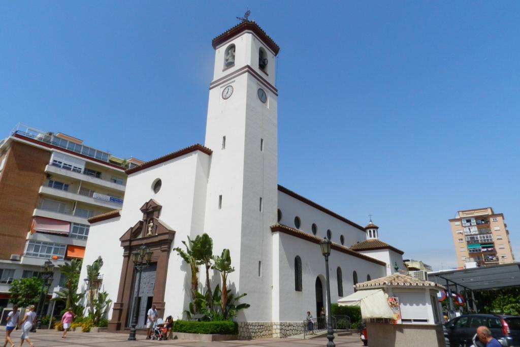 Image result for iglesia de nuestra señora del rosario fuengirola