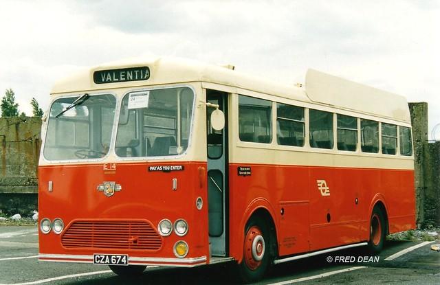 CIE E14 (CZA674).