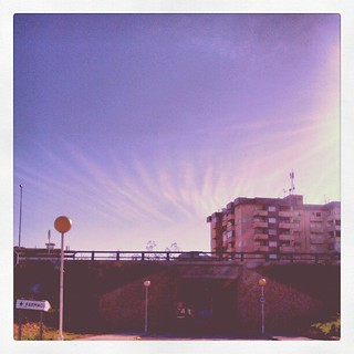 #elgringo365 9/365  Wispy Clouds